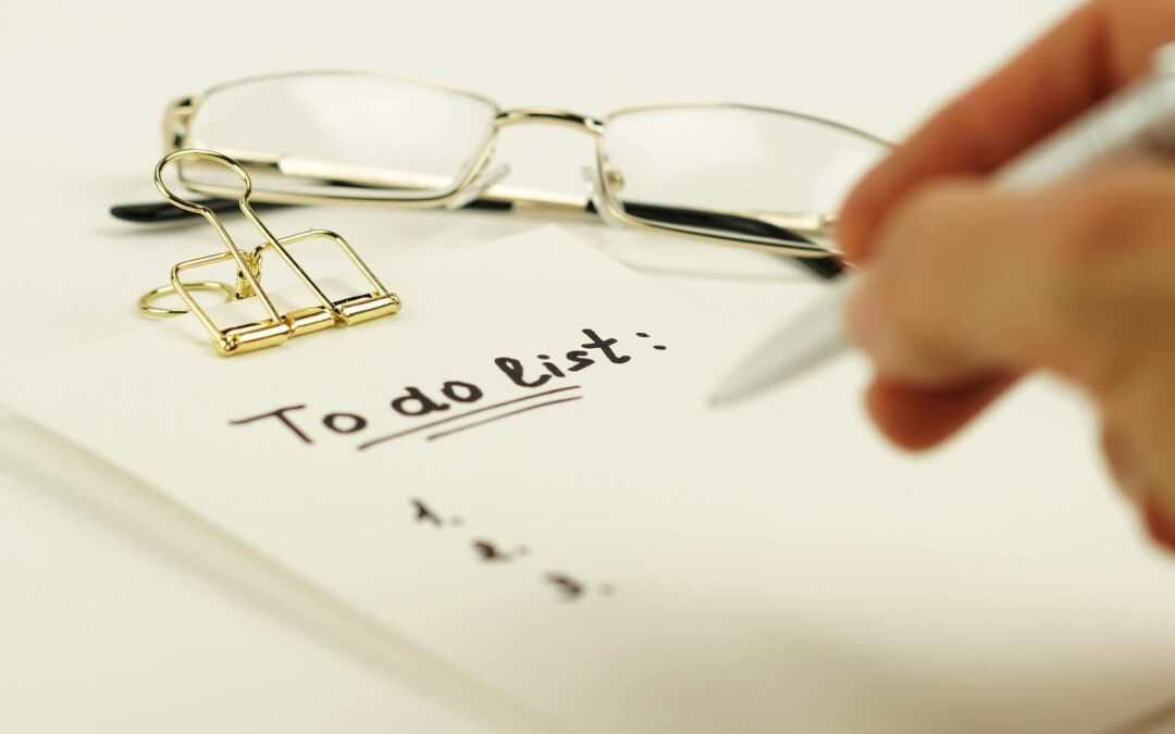How to manage your to-do list so it's no longer managing you!